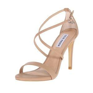 Steve Madden Beige Heeled Sandals Size 9
